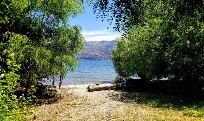 Burdekin Lane Beach, Peachland, BC