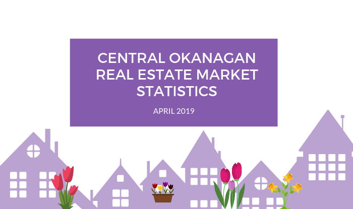 Central Okanagan Real Estate Market Statistics: April 2019 Title Image