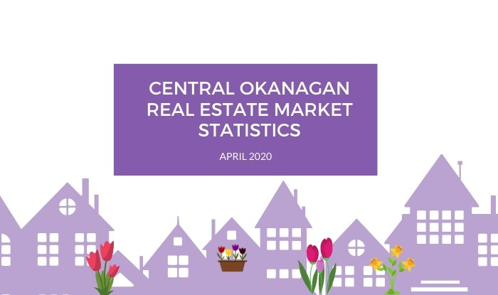 Central Okanagan Real Estate Market Statistics: April 2020