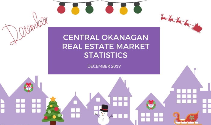 Central Okanagan Real Estate Market Statistics: December 2019
