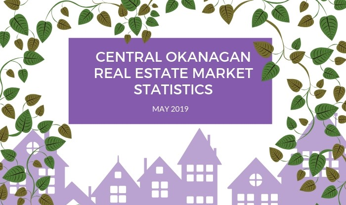 Central Okanagan Real Estate Market Statistics: May 2019 Title Image