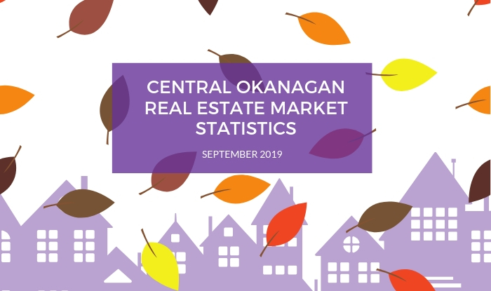 Central Okanagan Real Estate Statistics September 2019
