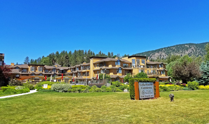 Lakeshore Gardens Condos for Sale in Peachland BC