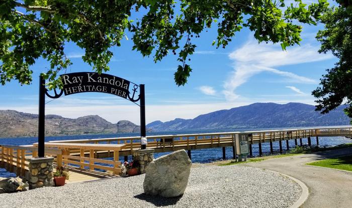 Ray Kandola Heritage Pier, Peachland, BC