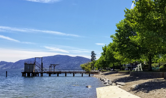 Swim Bay Beach, Peachland, BC