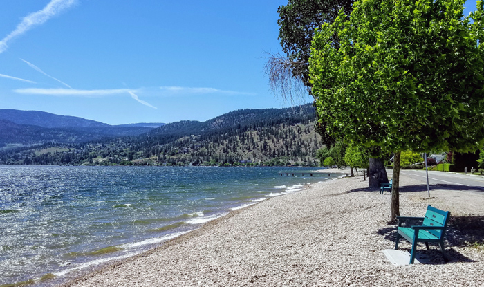 Trapanier Bay Beach, Peachland, BC