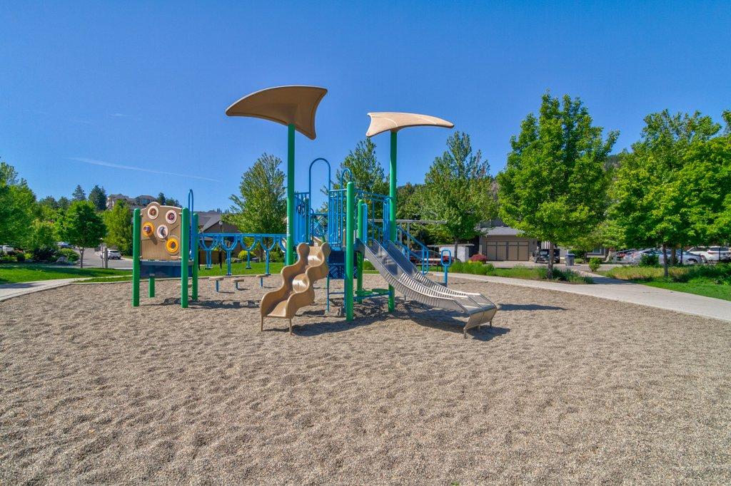 Hidden Lake Park Playground in Wilden Kelowna BC