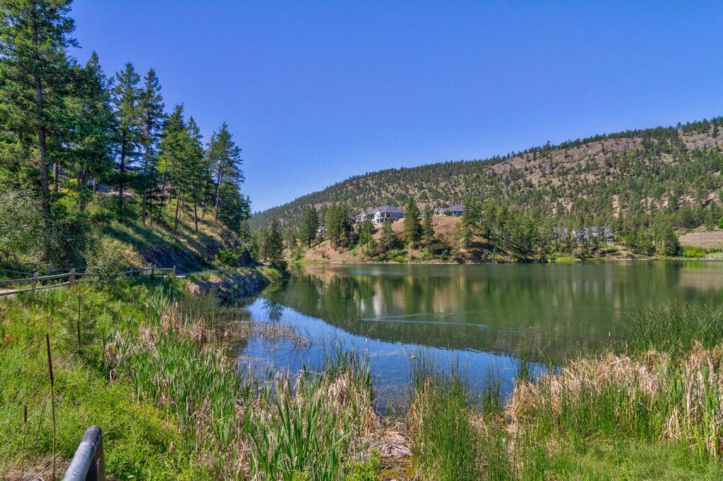 Hidden Lake in Wilden area of Kelowna BC