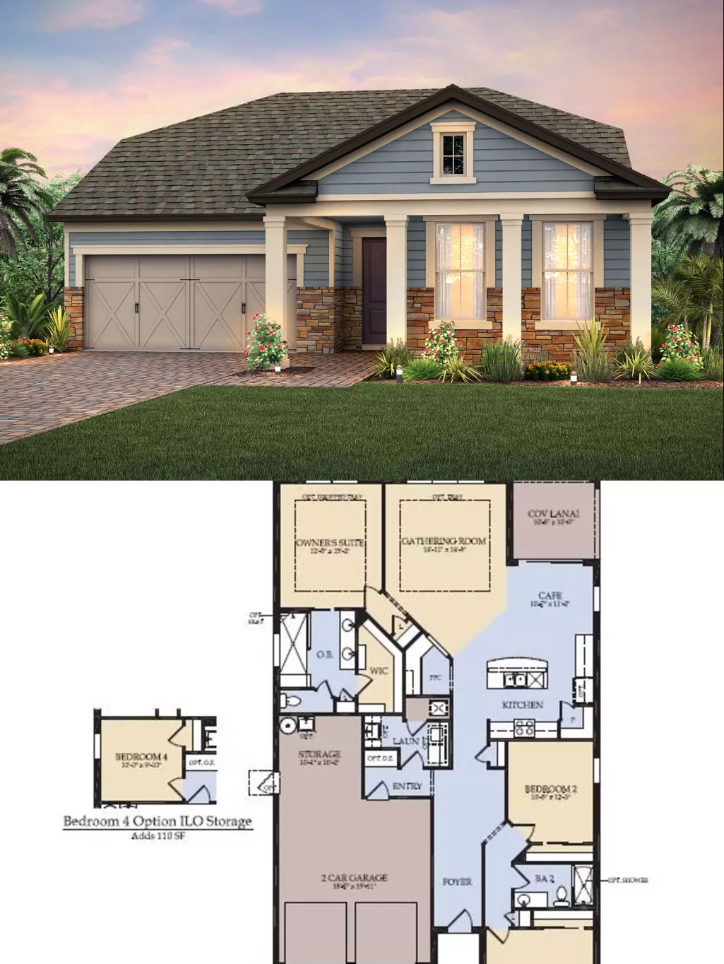 Epperson ranch floor plans pulte homes in epperson for Great home plans