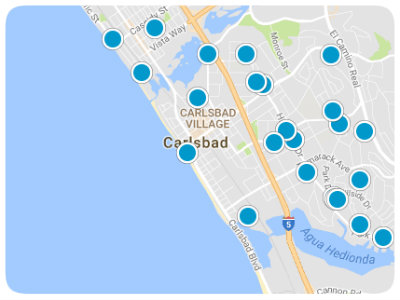 San Diego Real Estate Map Search