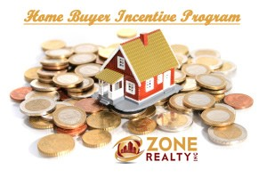 Home buyer incentive program by Zone Realty